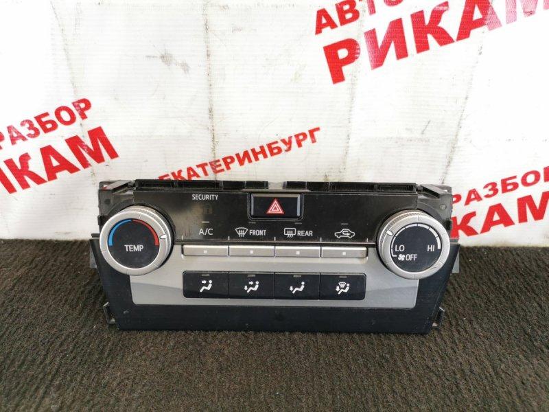 Блок климат-контроля Toyota Camry ASV50 2AR-FE 2012