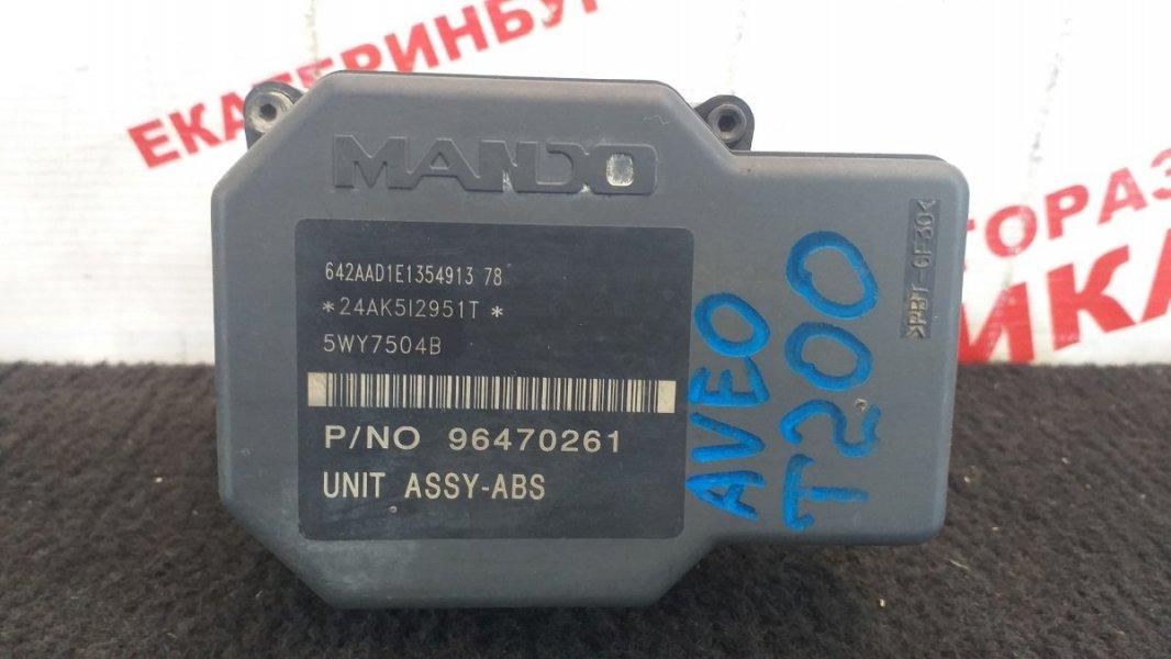 Блок abs Chevrolet Aveo T200 B12S1