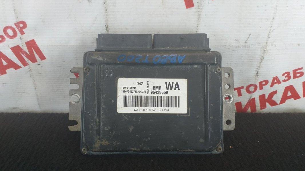 Блок управления Chevrolet Aveo T200 B12S1