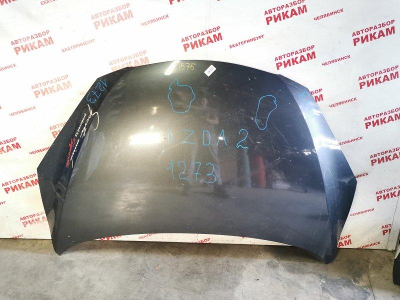 Капот Mazda 2 DE1 ZY 2009