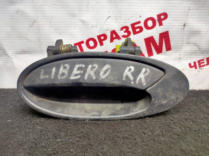 Ручка дверная Mitsubishi Libero CB5W задняя левая