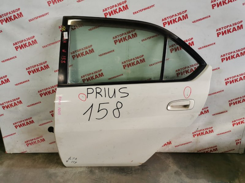 Дверь Toyota Prius NHW10 задняя левая