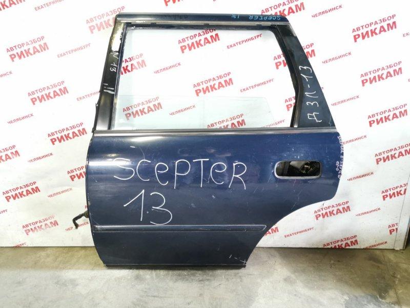 Дверь Toyota Scepter SXV15W задняя левая