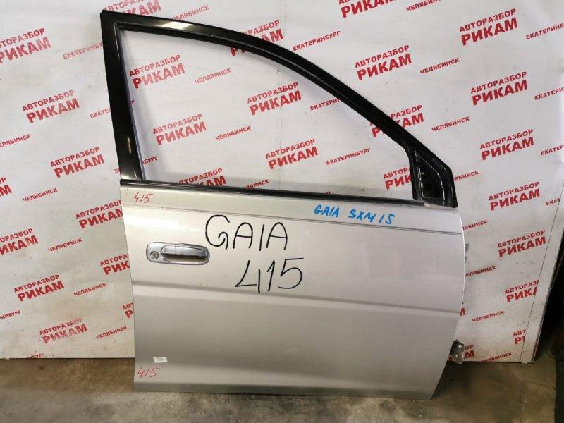 Дверь Toyota Gaia SXM10 передняя правая