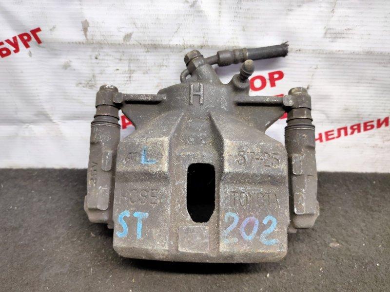 Суппорт тормозной Toyota Carina Ed ST202 передний левый