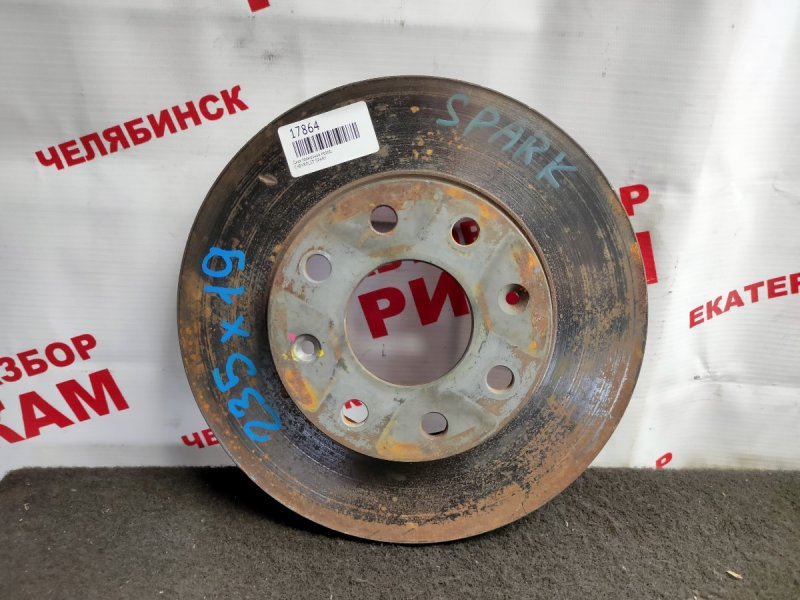 Диск тормозной Chevrolet Spark передний