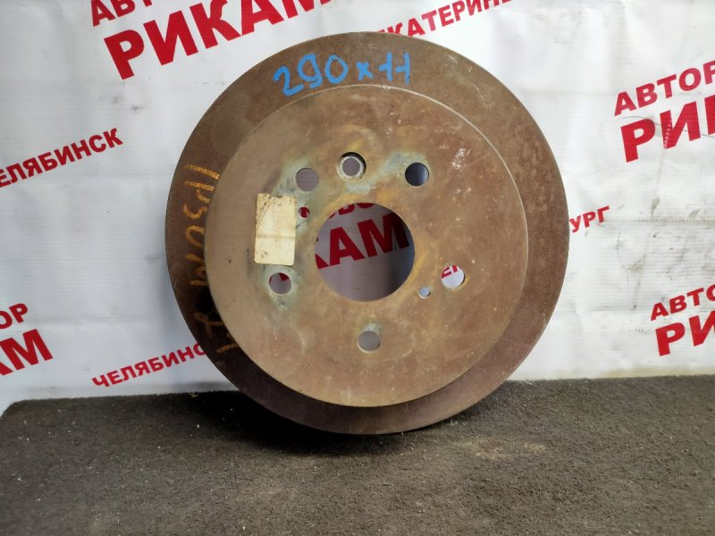 Диск тормозной Toyota Ipsum ACM21 задний