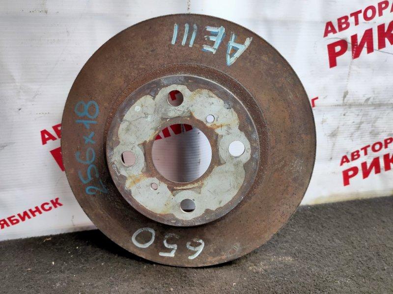 Диск тормозной Toyota Corolla Levin AE111 передний