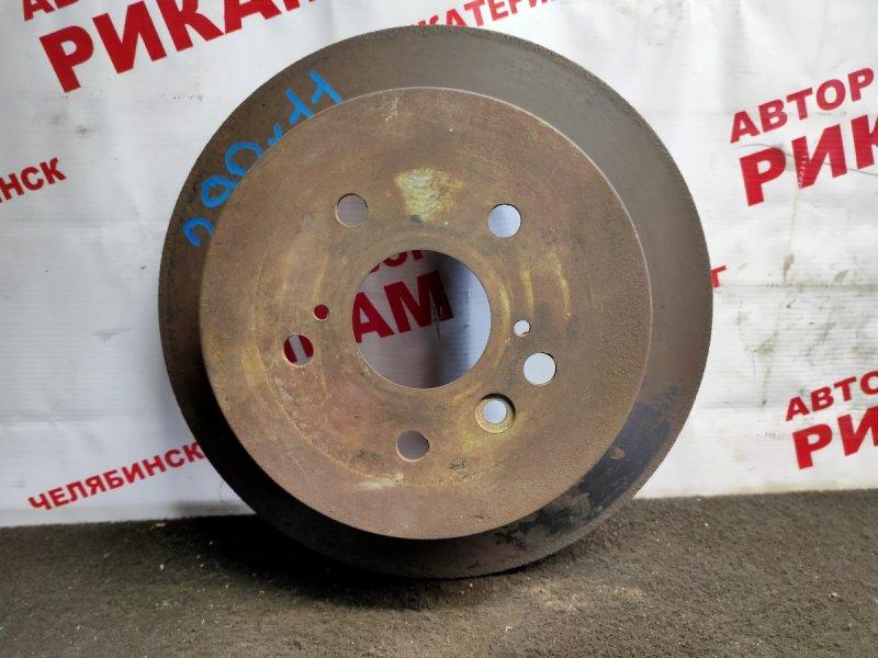 Диск тормозной Toyota Ipsum ACM20 2AZ-FE задний