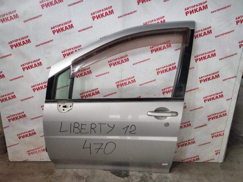 Дверь Nissan Liberty RNM12 передняя левая