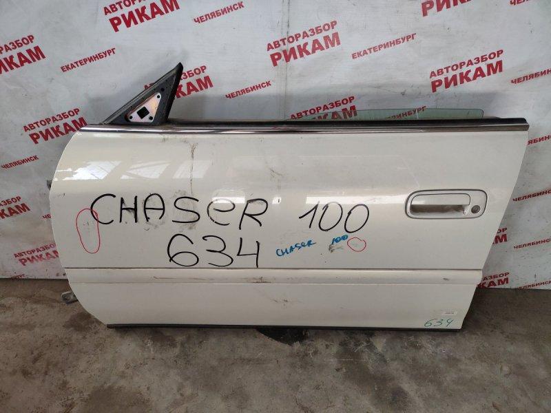 Дверь Toyota Chaser GX100 передняя левая