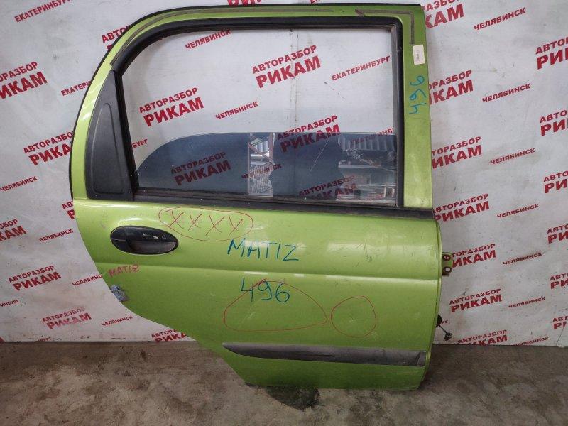 Дверь Daewoo Matiz задняя правая