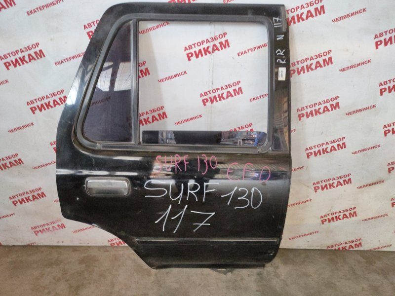 Дверь Toyota Hilux Surf LN130 задняя правая