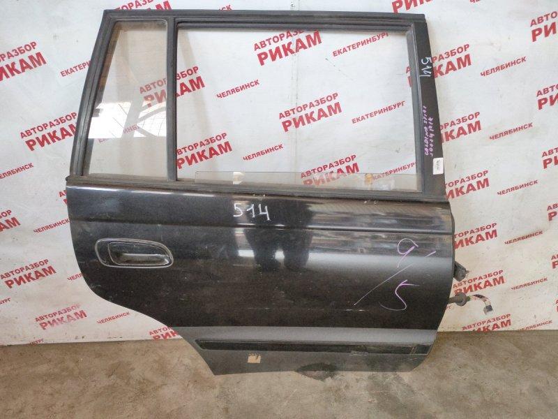 Дверь Toyota Caldina ST191 3S-FE задняя правая