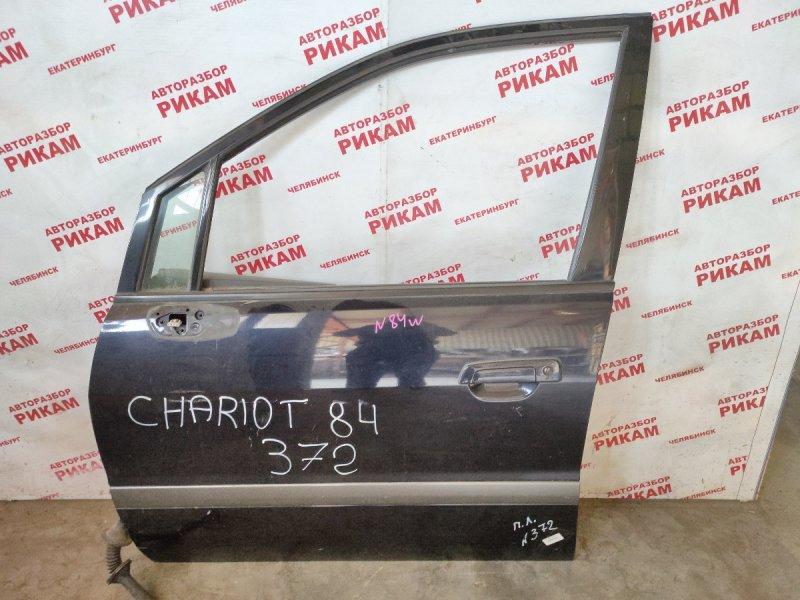 Дверь Mitsubishi Chariot Grandis N84W 4G64 передняя левая