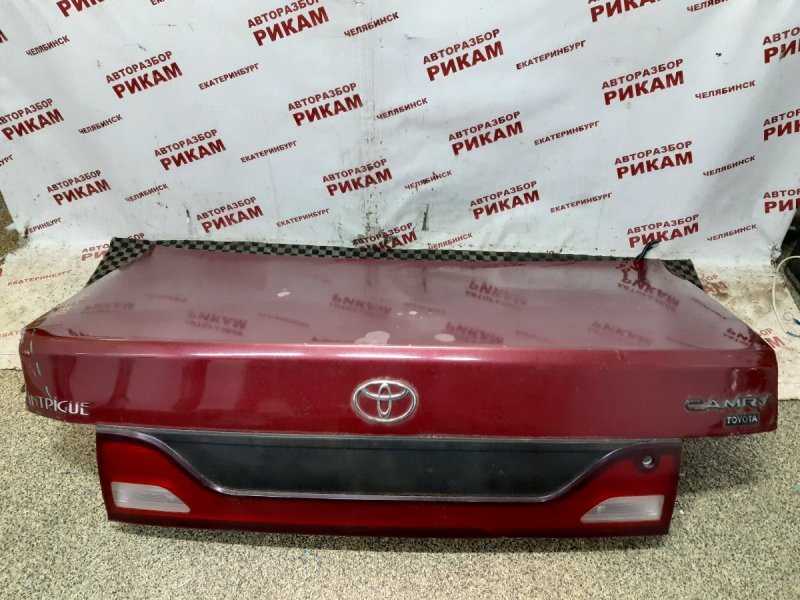 Крышка багажника Toyota Camry SXV10 5S-FE 1997 задняя