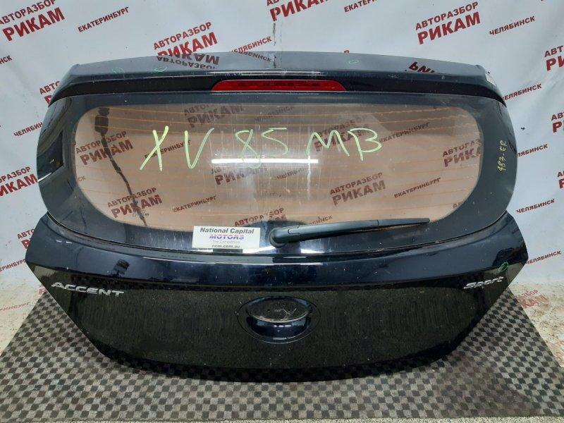 Дверь багажника Hyundai Solaris RB G4FD 2018 задняя