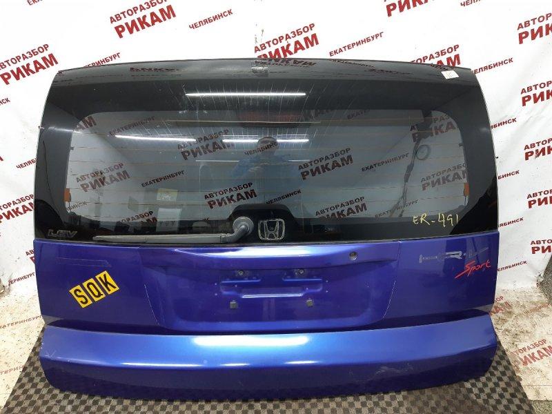 Дверь багажника Honda Hr-V GH2 D16W1 1999 задняя