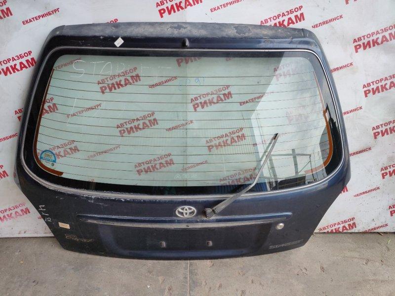 Дверь багажника Toyota Starlet EP91