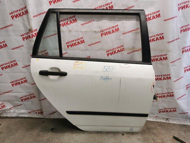 Дверь Toyota Corolla Fielder ZZE121 1ZZ-FE 2002 задняя правая