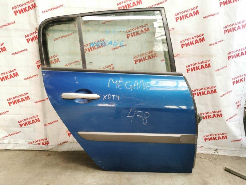Дверь Renault Megane BM задняя правая