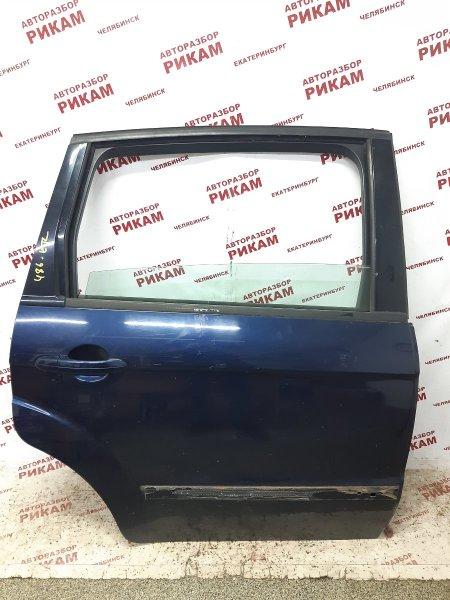 Дверь Ford S-Max WS HUWA 2006 задняя правая