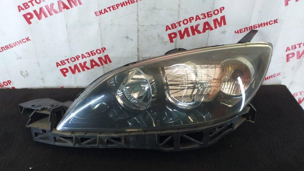 Фара Mazda Axela BK5P ZY 2003 левая