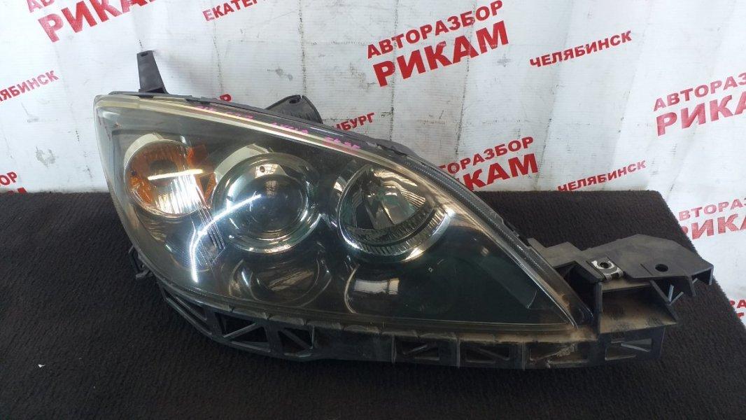 Фара Mazda Axela BK5P ZY-VE 2003 правая