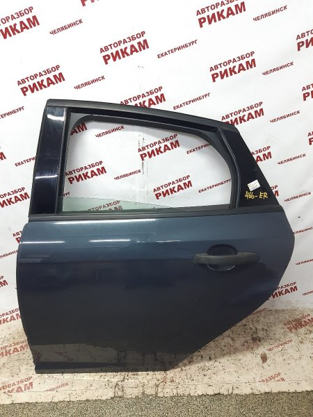 Дверь Ford Focus 3 CB8 PNDA 2011 задняя левая