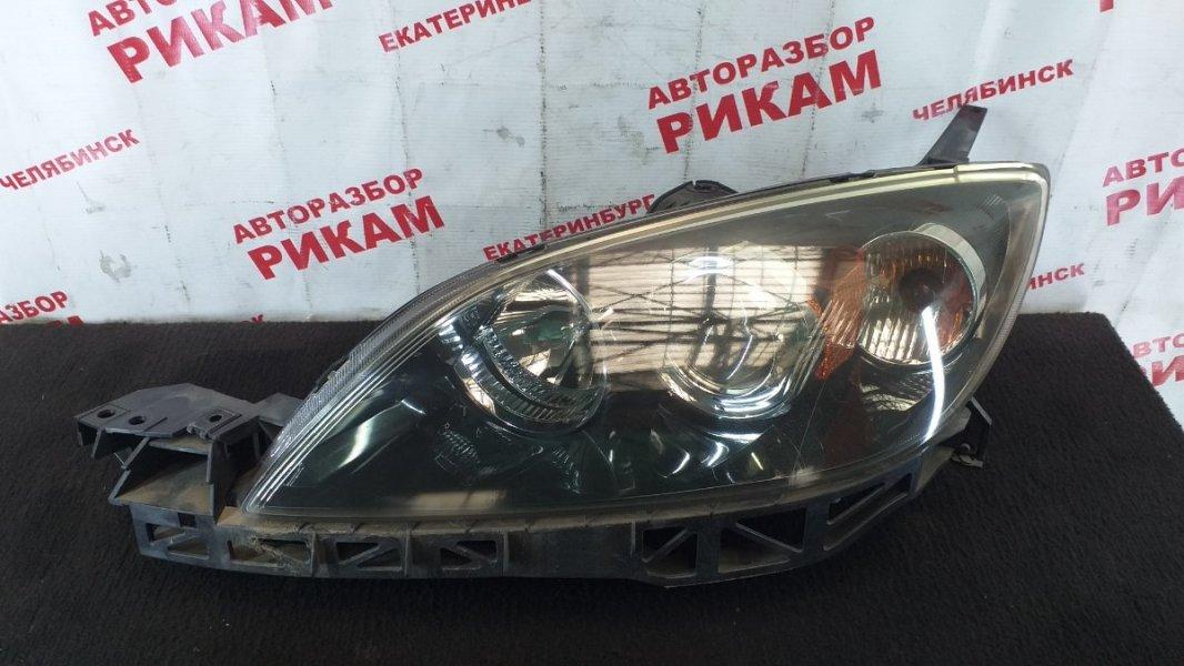 Фара Mazda Axela BK5P ZY 2006 левая