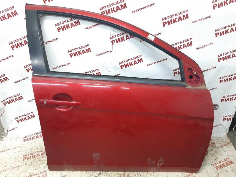 Дверь Mitsubishi Lancer CX4A 4B12 2010 передняя правая