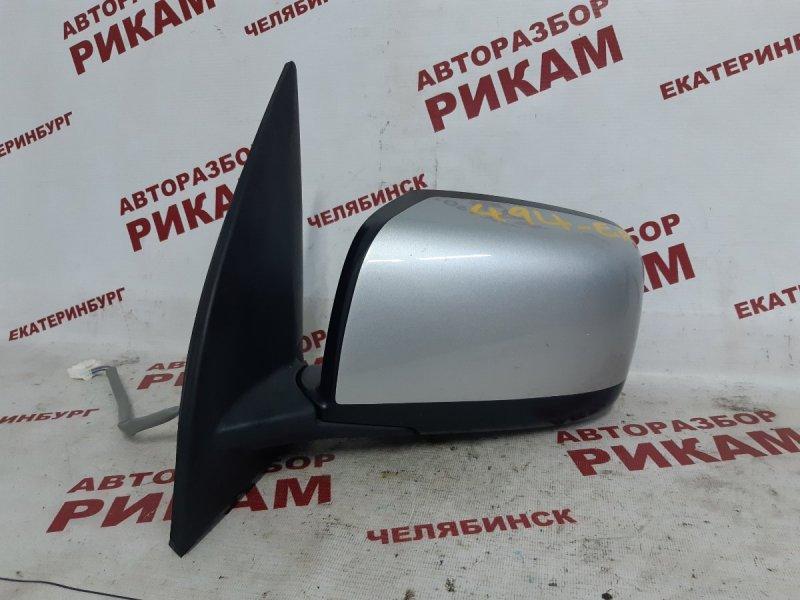 Зеркало Nissan X-Trail NT31 QR25DE 2008 левое