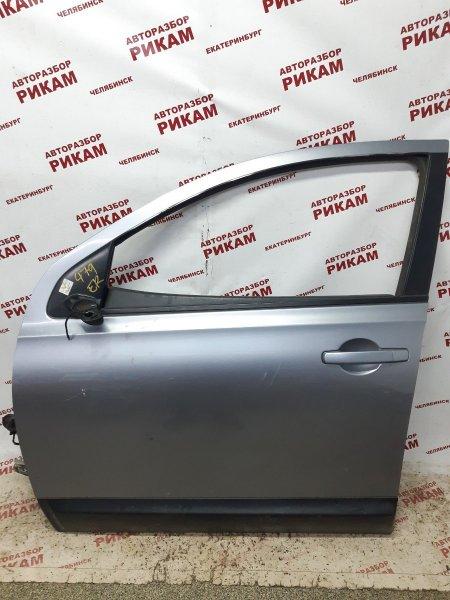 Дверь Nissan Qashqai +2 J10 MR20DE 2010 передняя левая