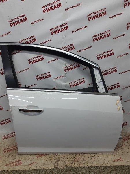 Дверь Opel Astra J P10 A16LET 2013 передняя правая