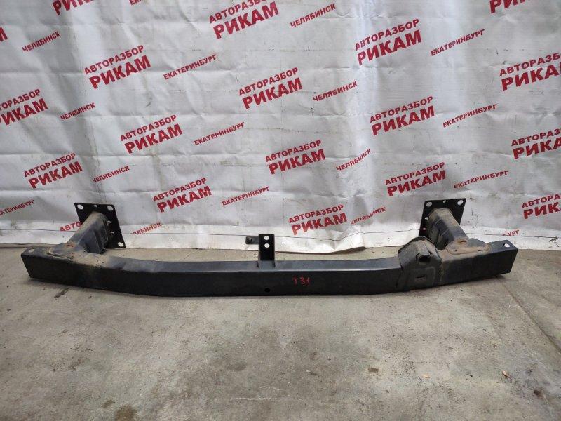 Усилитель бампера Nissan X-Trail NT31 MR20 2008 передний