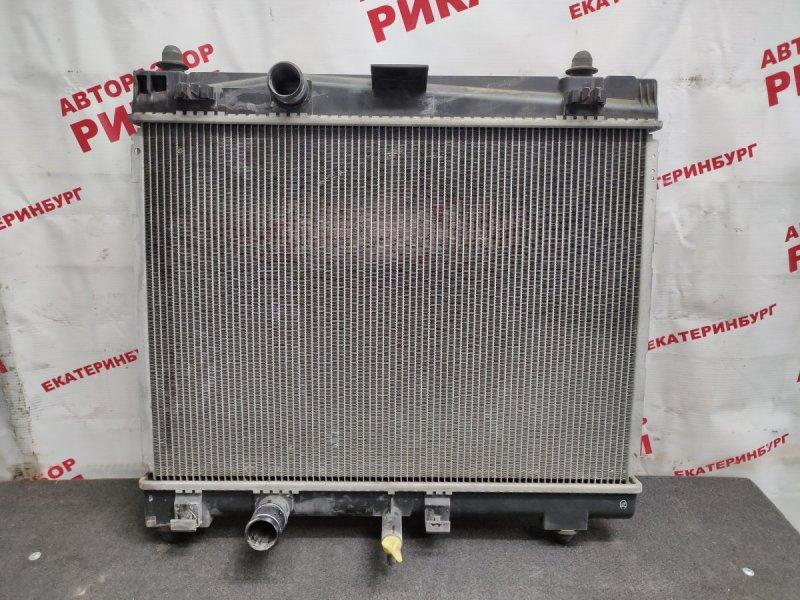 Радиатор охлаждения Toyota Vitz KSP90 1KR-FE 2010