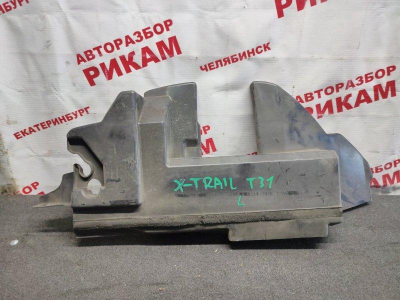 Дефлектор радиатора Nissan X-Trail NT31 MR20 2008 левый