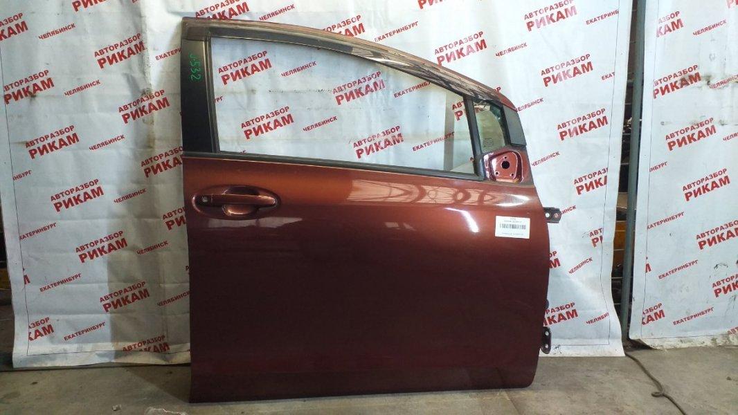 Дверь Toyota Vitz KSP90 1KR-FE 2010 передняя правая
