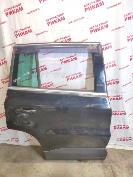 Дверь Volkswagen Tiguan 5N2 CAWB 2009 задняя правая