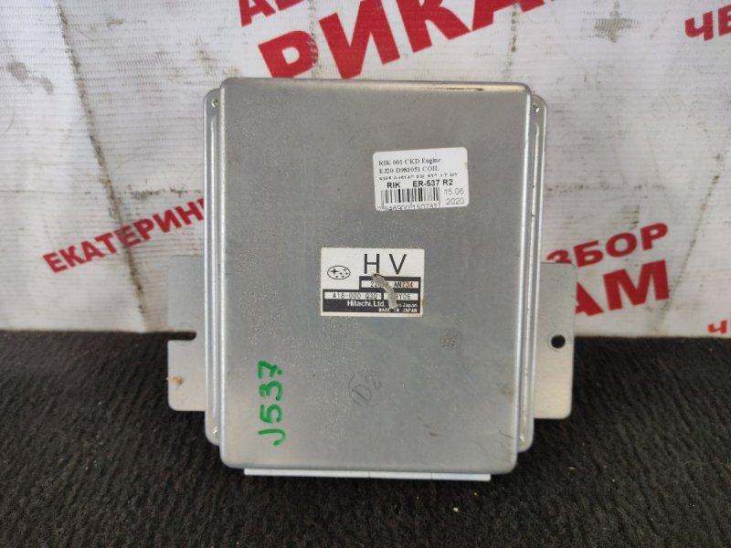 Блок управления Subaru Forester SH5 EJ204 2009