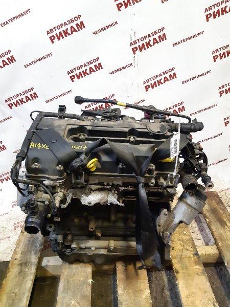 Двигатель Opel Corsa D S07 A14XER 2013