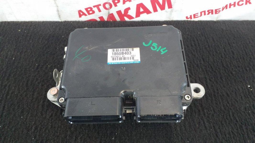 Блок управления Mitsubishi Galant Fortis CY3W 4B10 2010