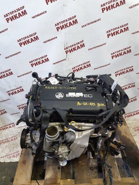 Двигатель Chevrolet Cruze J300 A16LET 2013