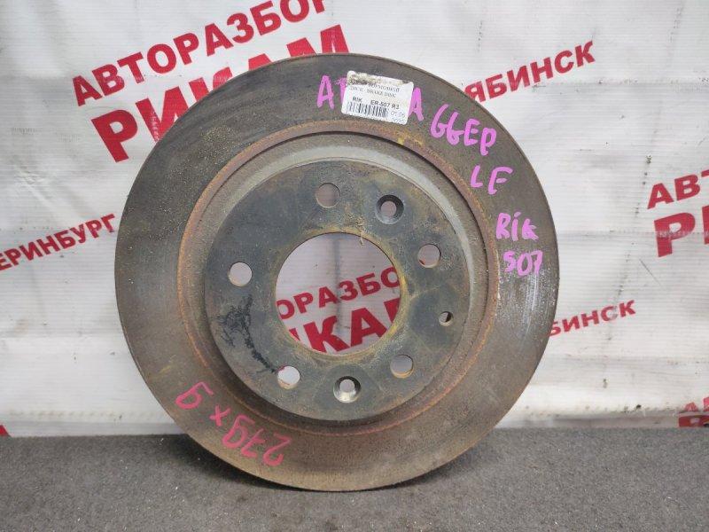 Диск тормозной Mazda Atenza GGEP LF-VE 2005 задний