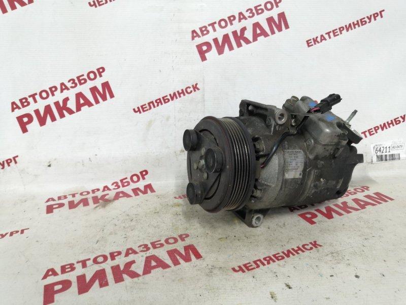 Компрессор кондиционера Nissan Qashqai +2 J10 MR20DE 2010