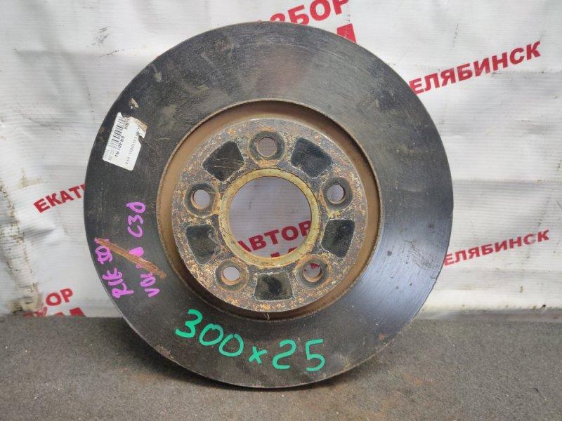 Диск тормозной Volvo C30 MK68 B5254T3 2007 передний