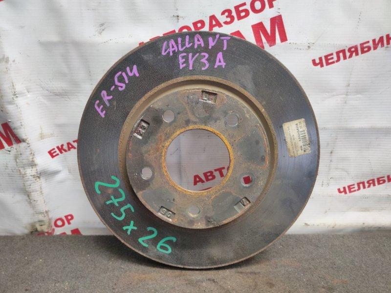 Диск тормозной Mitsubishi Galant Fortis CY3W 4B10 2010 передний