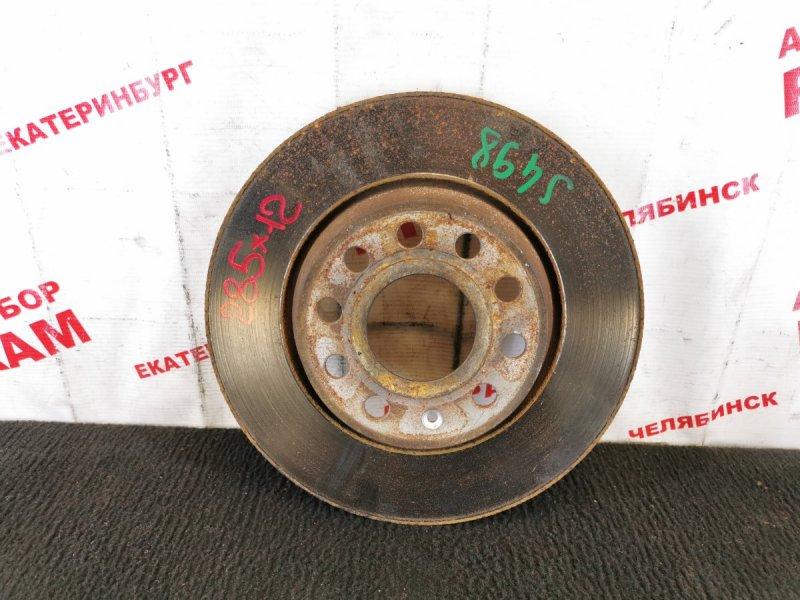 Диск тормозной Volkswagen Tiguan 5N2 CAWB 2009 задний
