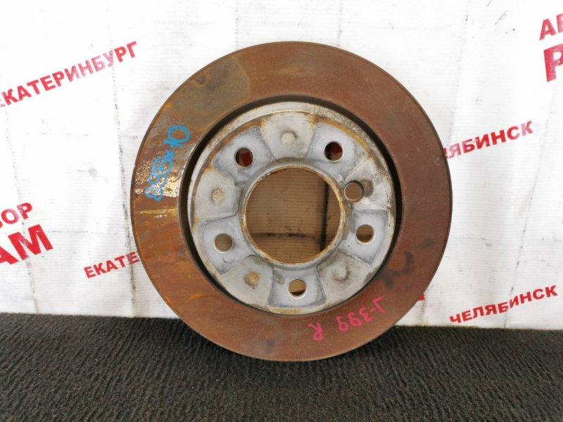 Диск тормозной Bmw 320I E90 N46B20BA 2005 задний