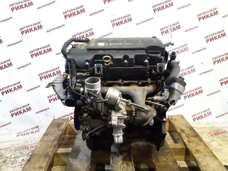 Двигатель Opel Astra J P10 A14NET 2012